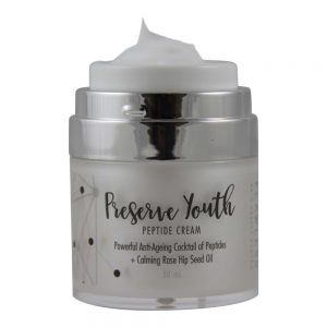 Anti ageing Peptide Preserve Youth Facial Moisturiser by Flawless Skin Health System