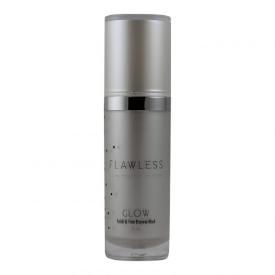 Glow Facial Exfoliant Mask, Flawless Skin Health System. Enzyme Exfoliating Mask for all skin types