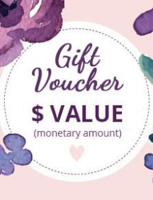 Gift Voucher Value Amount
